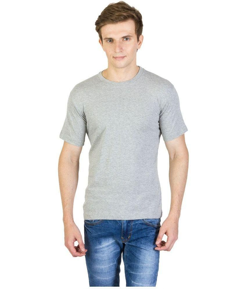 Alif Paki Grey Round T Shirt