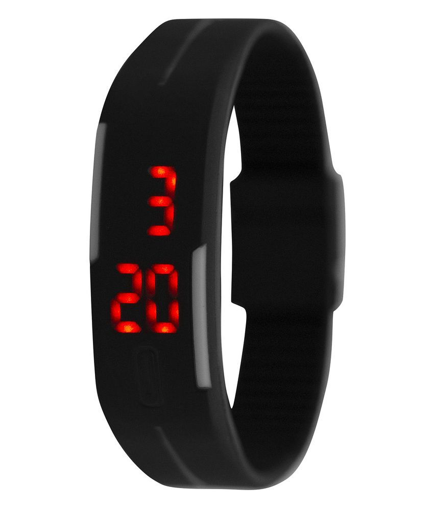 7a426858e Curren Black Plastic Digital Watch - Buy Curren Black Plastic Digital Watch  Online at Best Prices in India on Snapdeal
