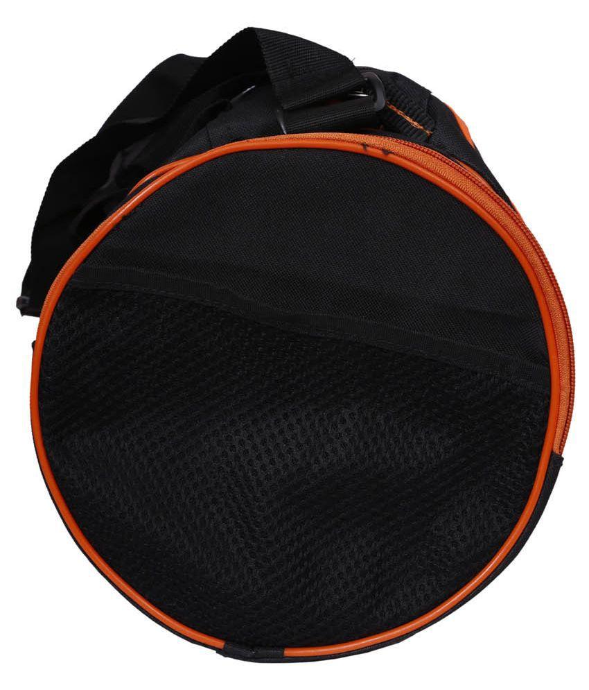 Klapp Sports Orange Black Gym Bag Klapp Sports Orange Black Gym Bag ... 010f3d540e241