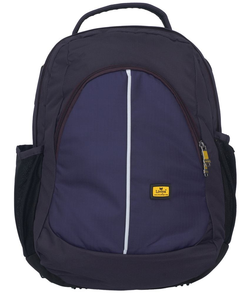 Liviya Sb-782_purp Purple 30 Polyester Casual Backpack  available at snapdeal for Rs.1449