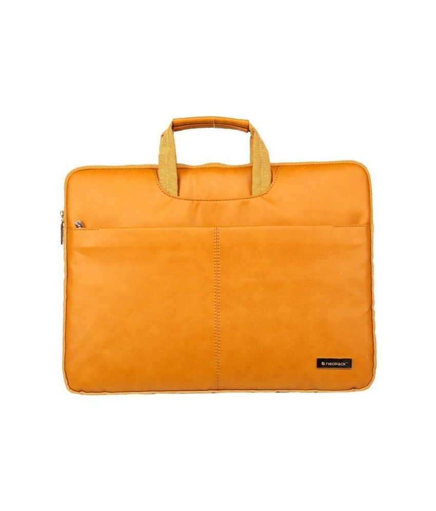 Neopack 9TN13-Relist Tan Nylon Laptop Sleeve