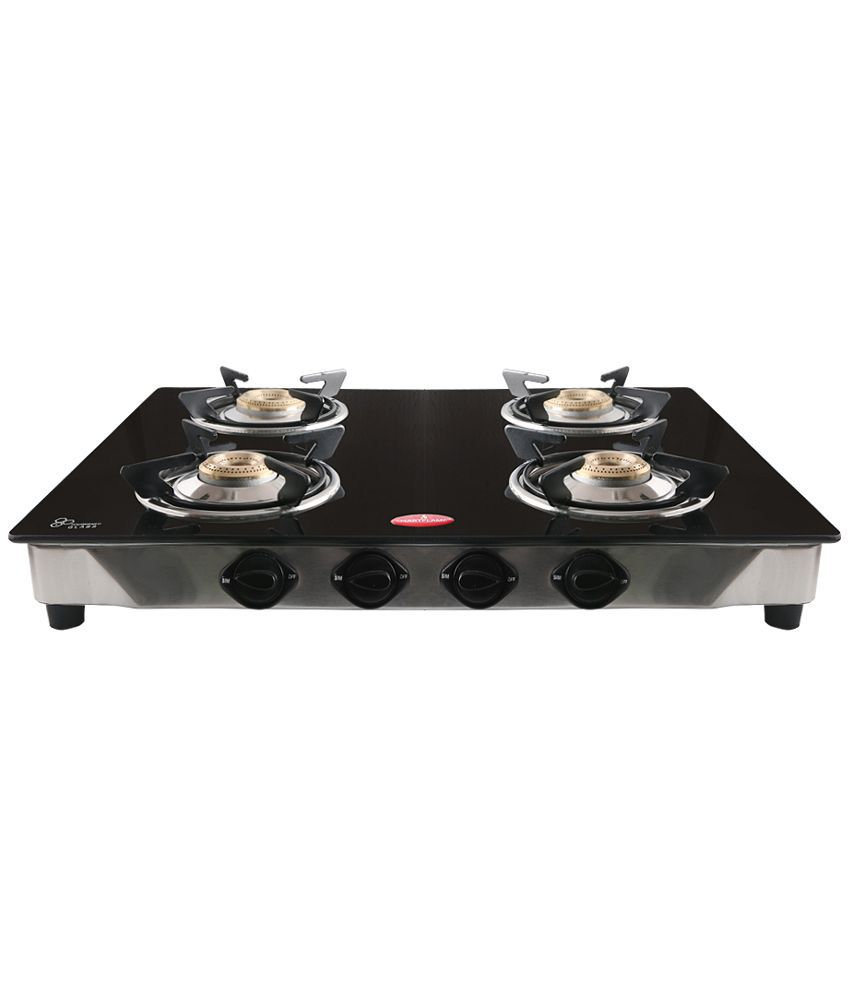 Smartflame GT4BX Manual Ignition Gas Cooktop (4 Burner)