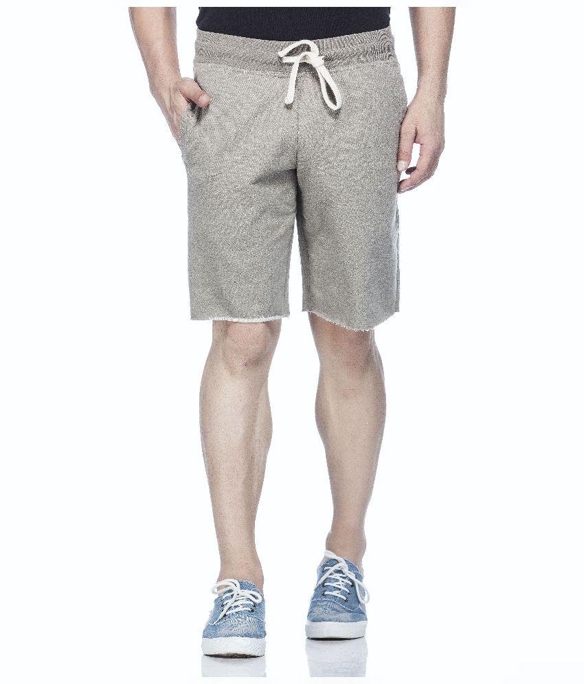 Tinted Grey Shorts