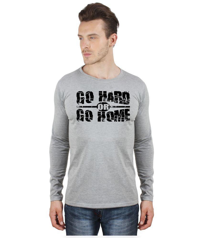 Sayitloud Grey Round T Shirt