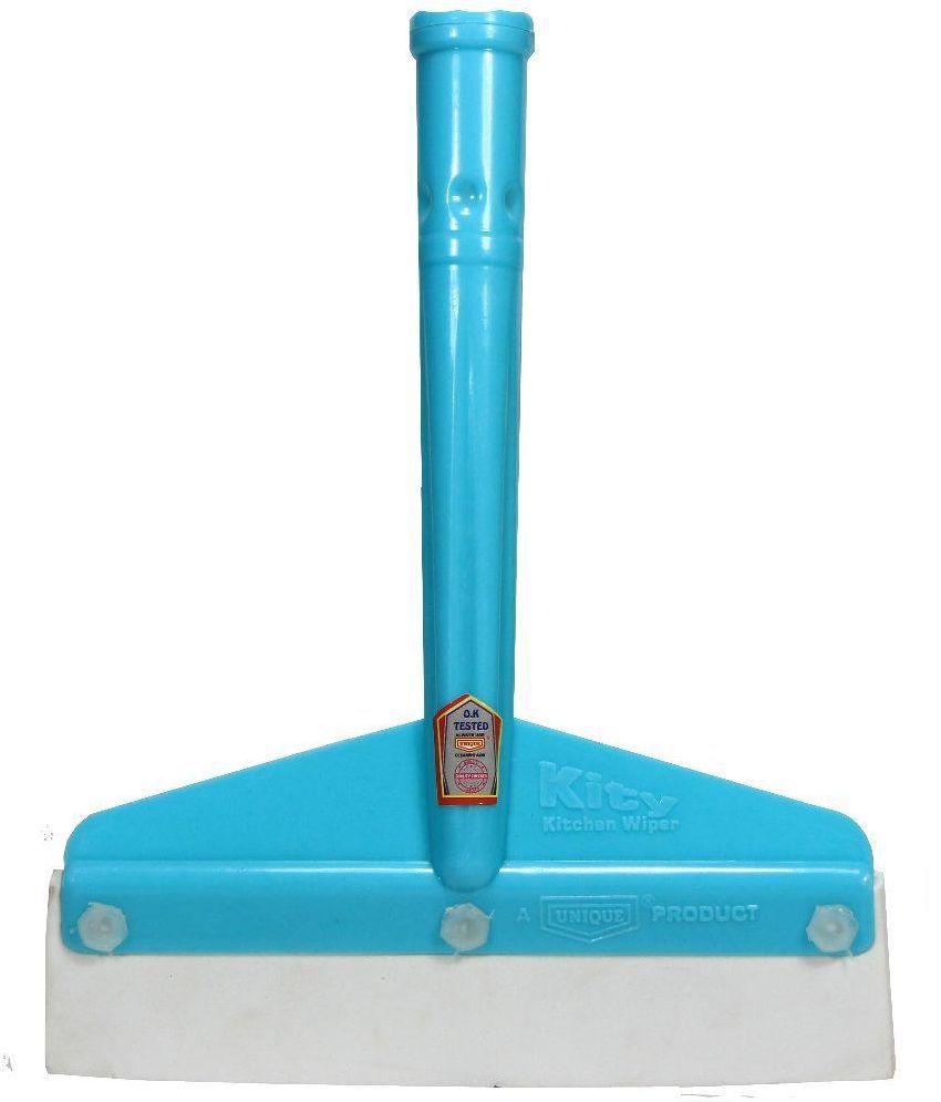 Unique Blue Plastic Glass Wiper