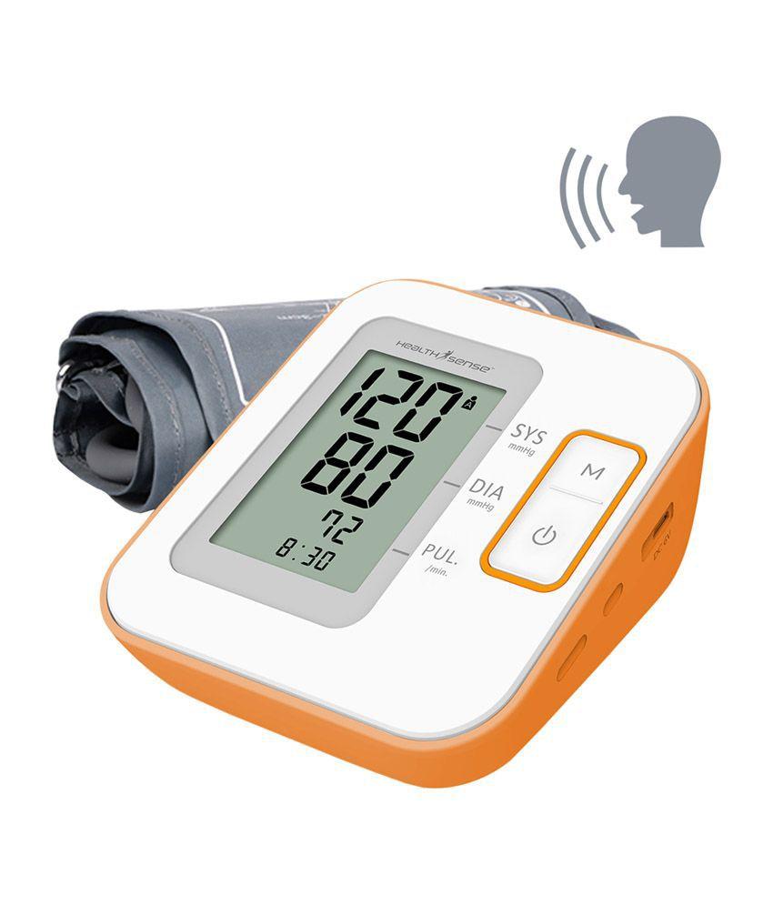 HealthSense BP 100 Talking BP Monitor Heart-Mate Classic