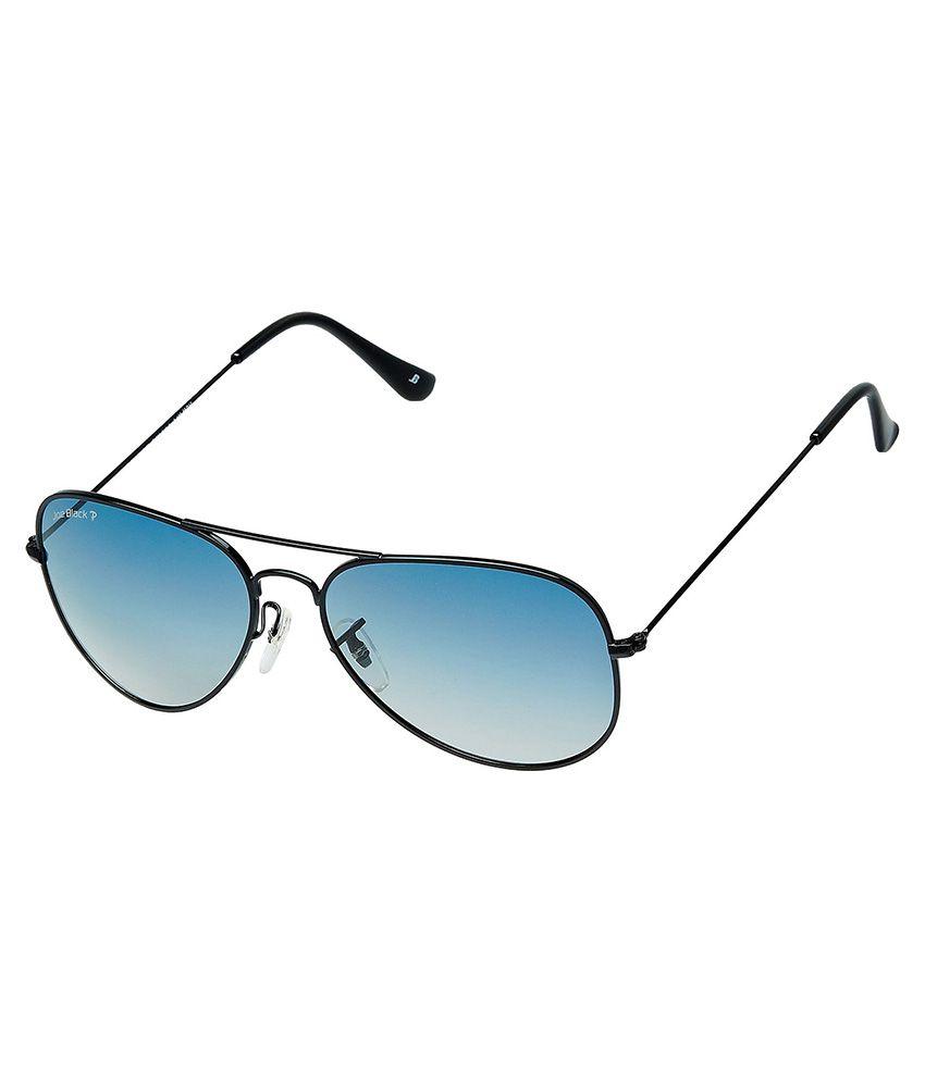 Joe Black Blue Aviator Sunglasses ( JB-755-C12P )