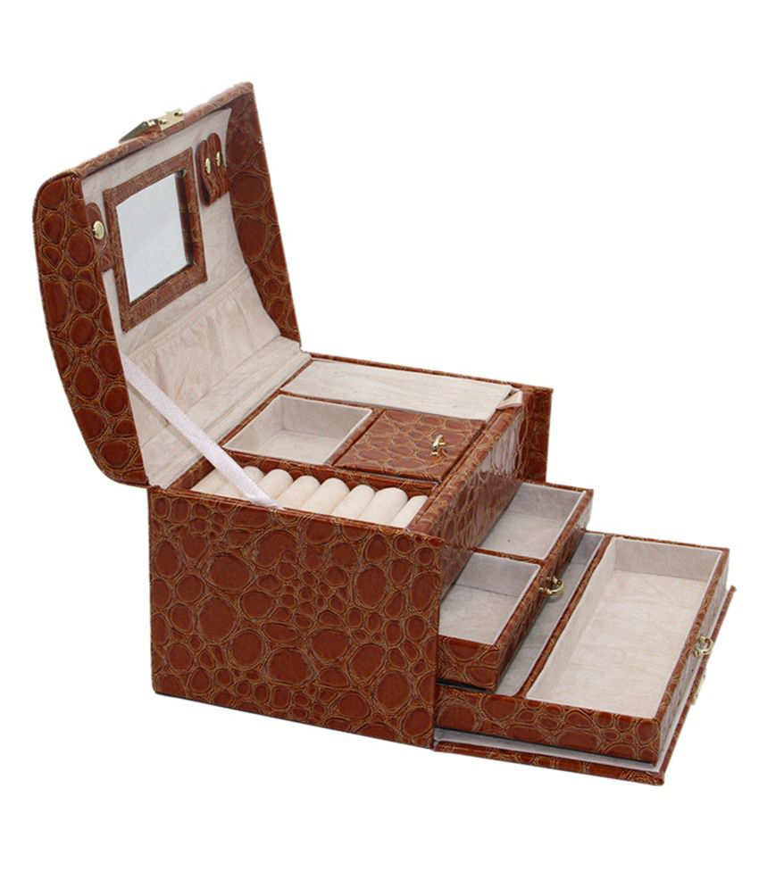 Knott Brown Jewellery Box