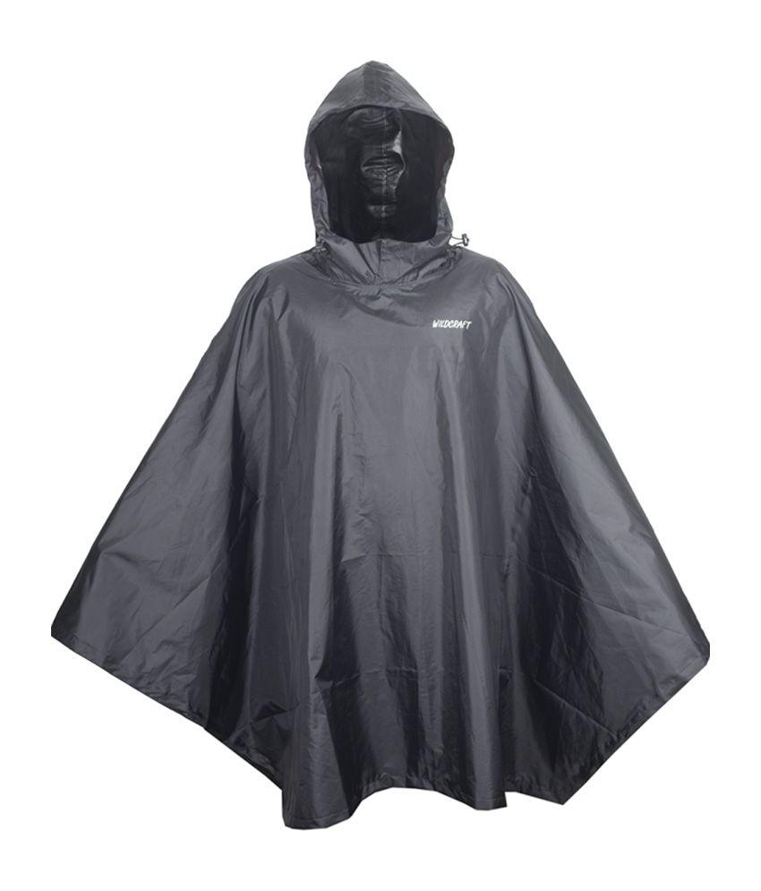 Wildcraft Basic Rain Poncho - Anthracite