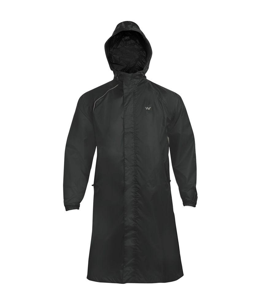 Wildcraft Black Rain Coat