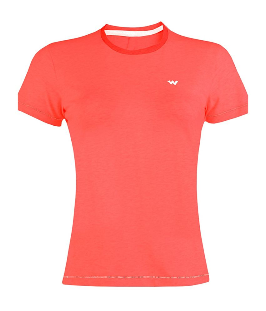 Wildcraft Essential Crew T-Shirt - Red