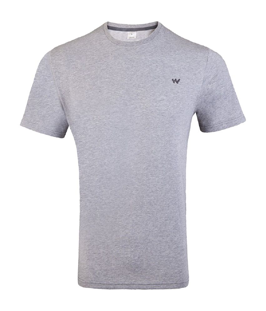 Wildcraft Essential Men's T-Shirt - Grey