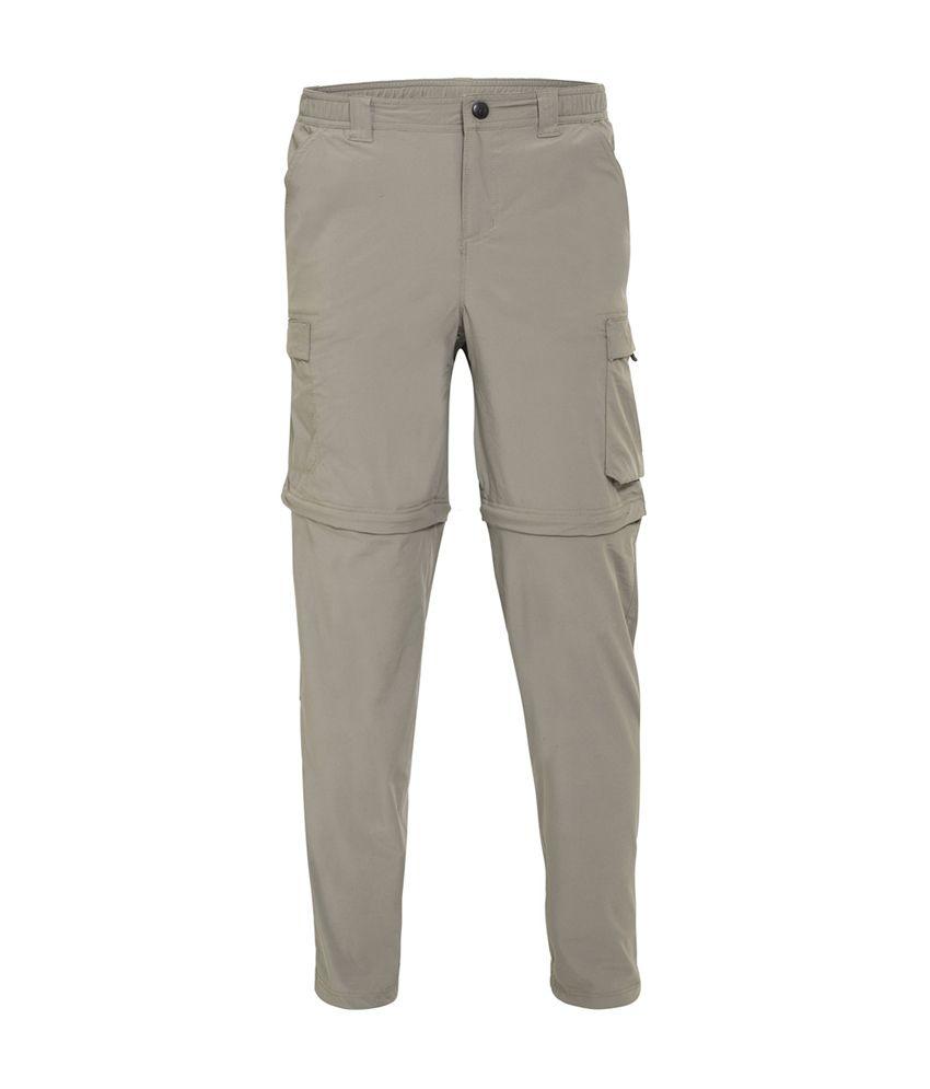 Wildcraft Men's Convertible Pant - Grey