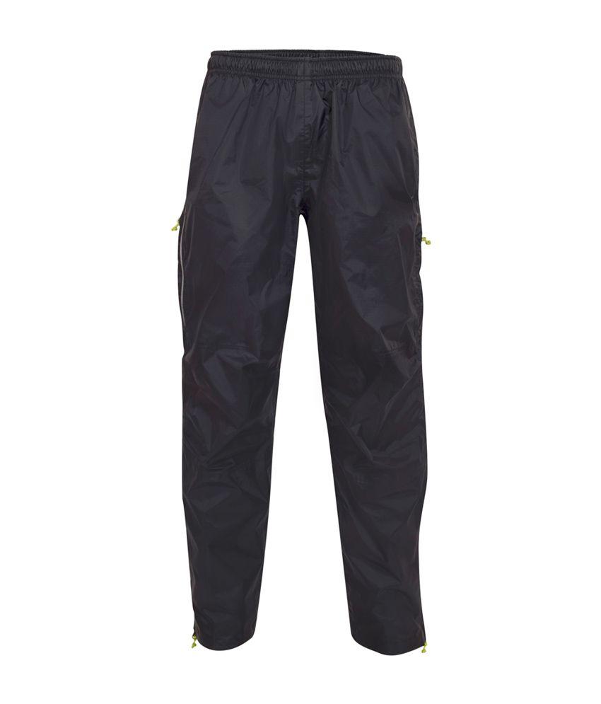 Wildcraft Men's Grey Pro Rain Pant