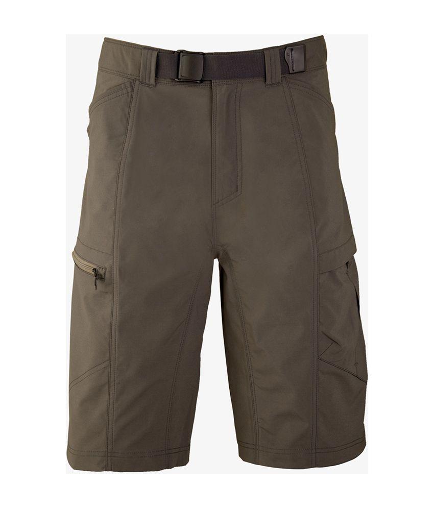 Wildcraft Men's Hiking Bermuda Shorts - Brown