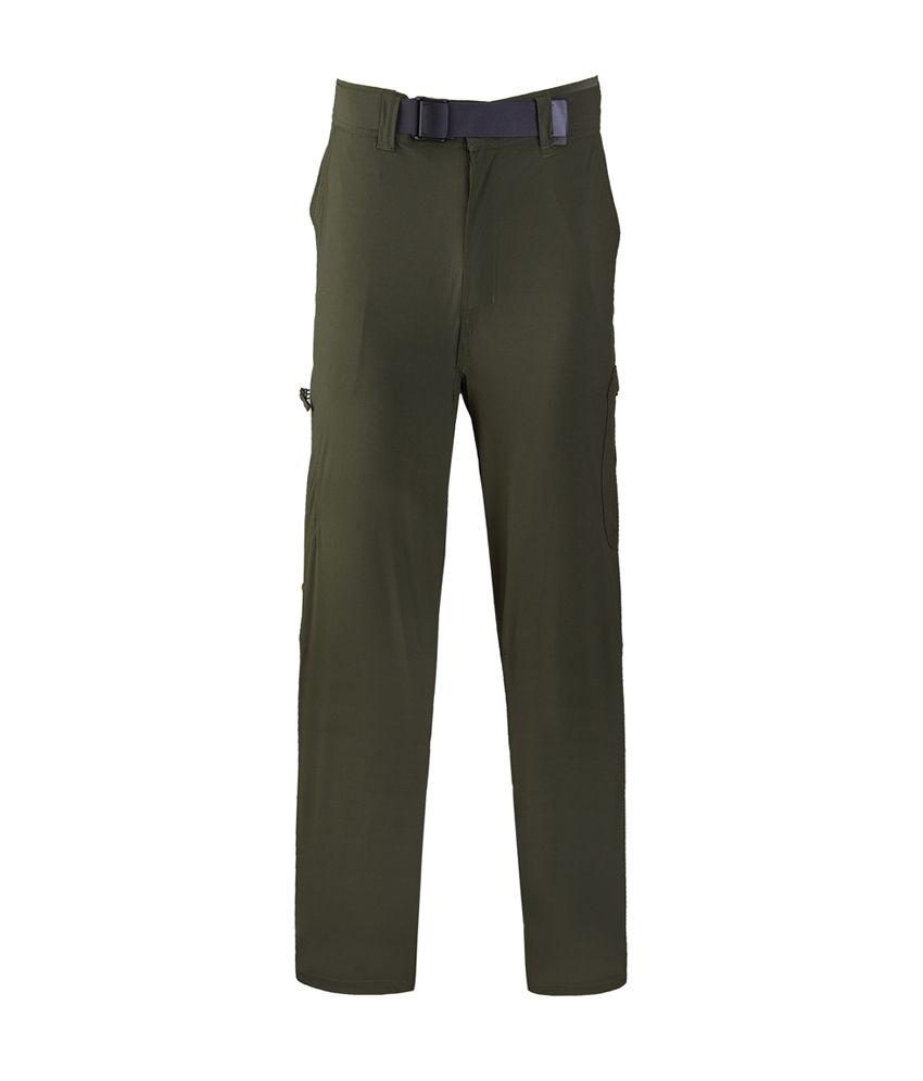 Wildcraft Men's Hiking Pant - Green