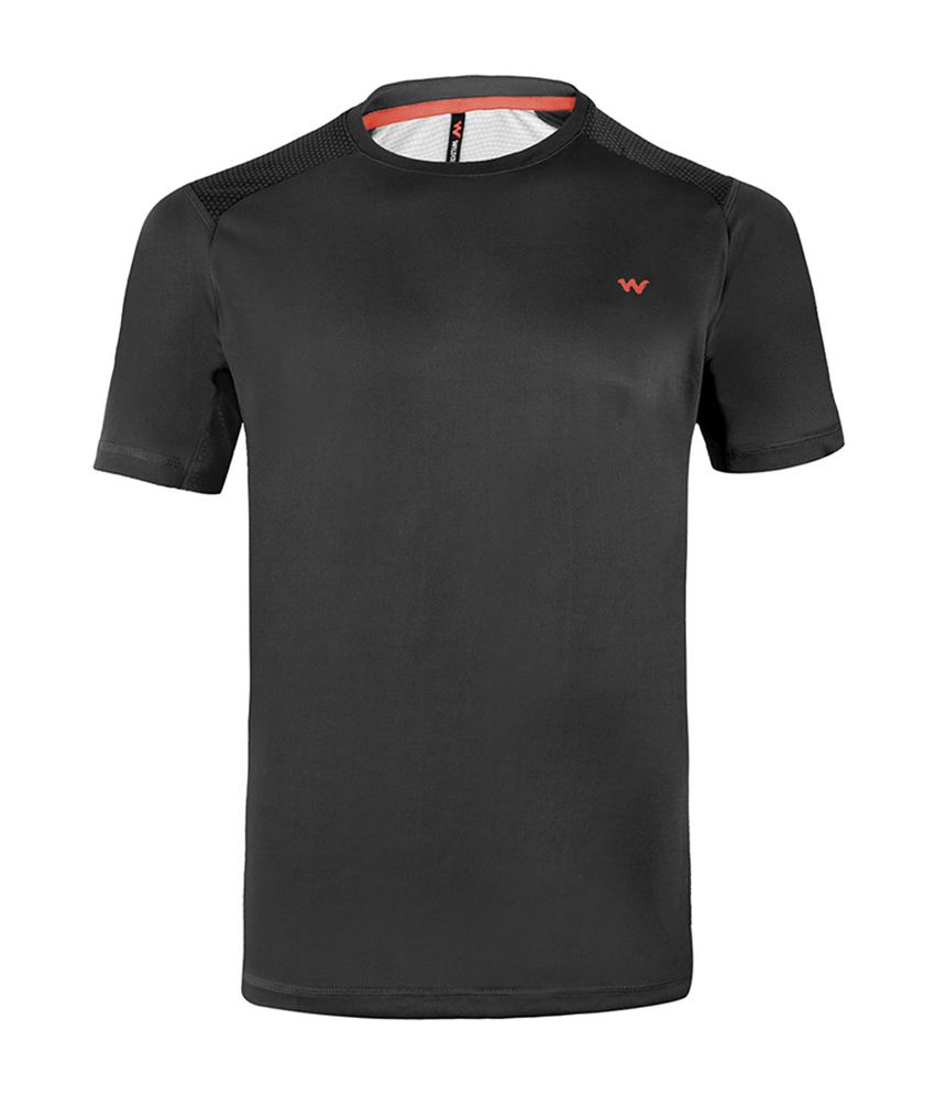 Wildcraft Men's Hiking T-Shirt - Black