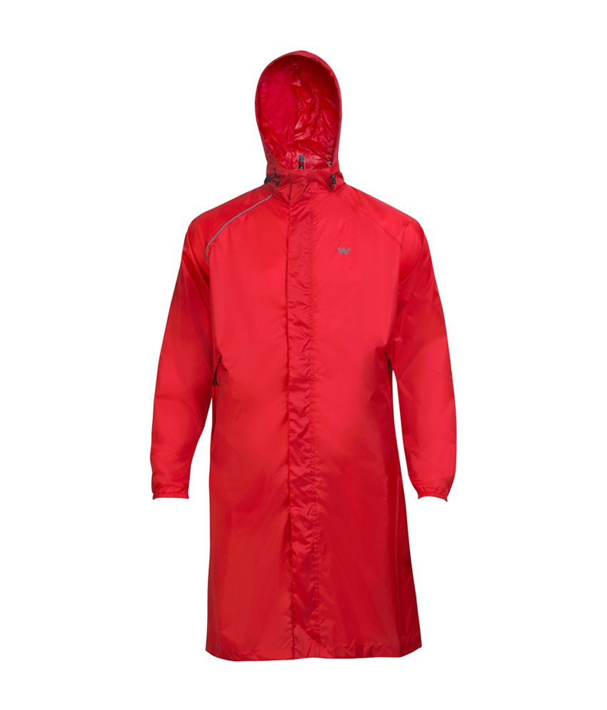 Wildcraft Red Rain Coat