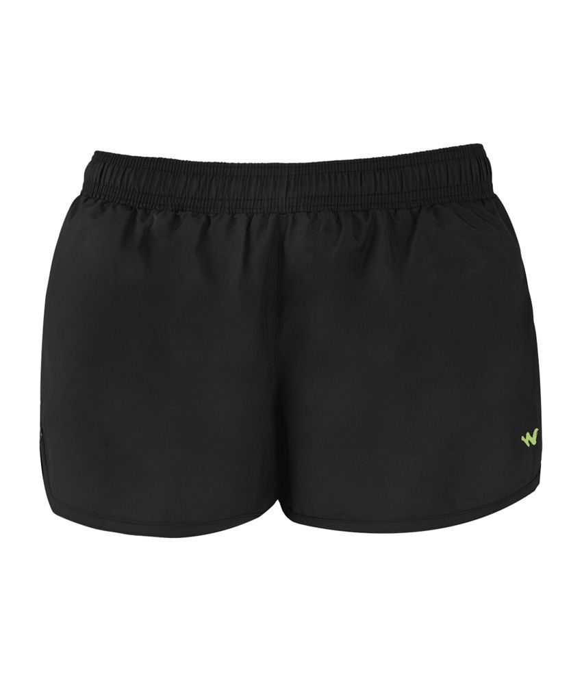 Wildcraft Women's Active Shorts - Black