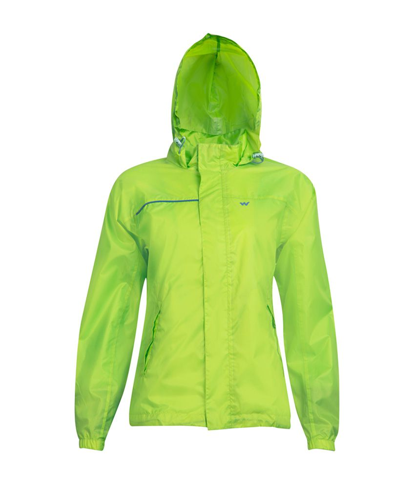Wildcraft Women's Green Rain Jacket