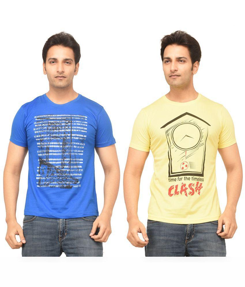 TSG Escape Multi Round T Shirt Pack of 2