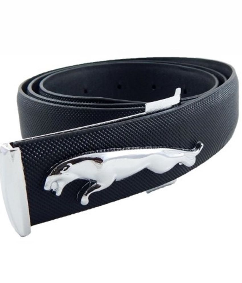Bajya Black Jaguar Buckle Belt