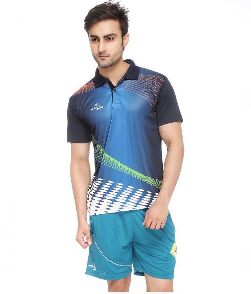 Sport Sun Multicolour Polyester Polo T-Shirt