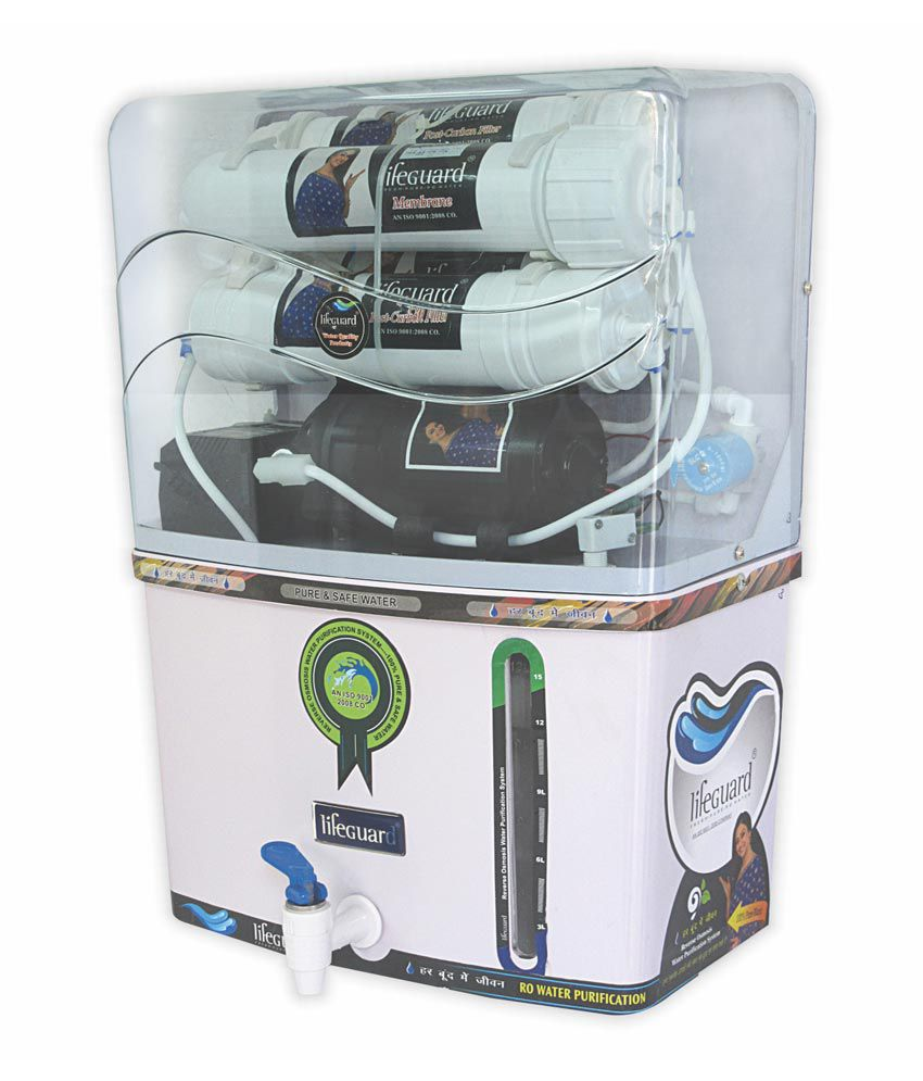 Lifeguard Novo Ro, UV, TDS Controller Water Purifier (12 L)