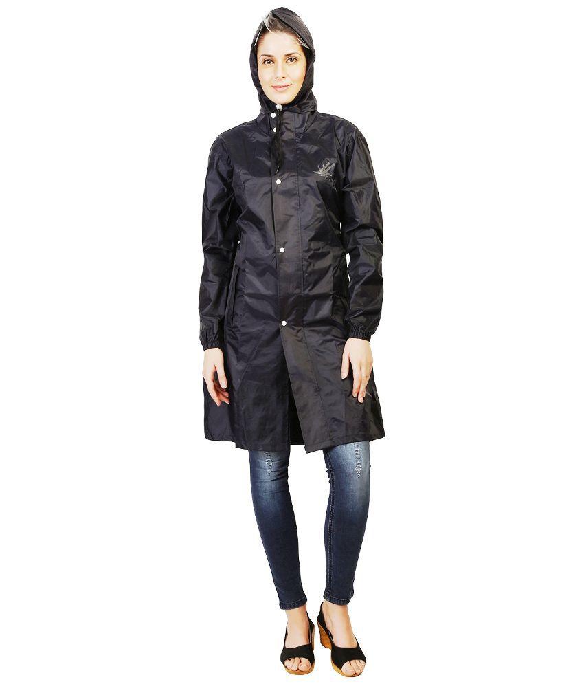 Zeel Navy Waterproof Raincoat