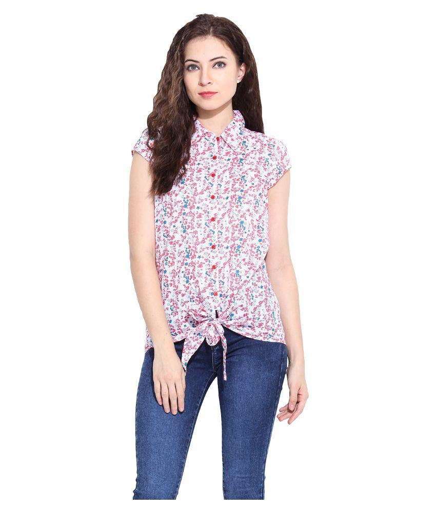 Paprika Multi Color Cotton Shirts