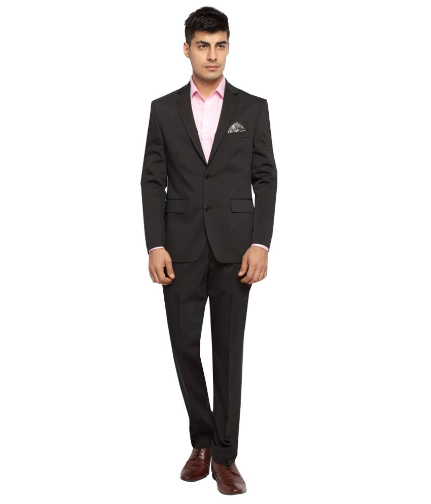 SUITLTD Black Formal Suits