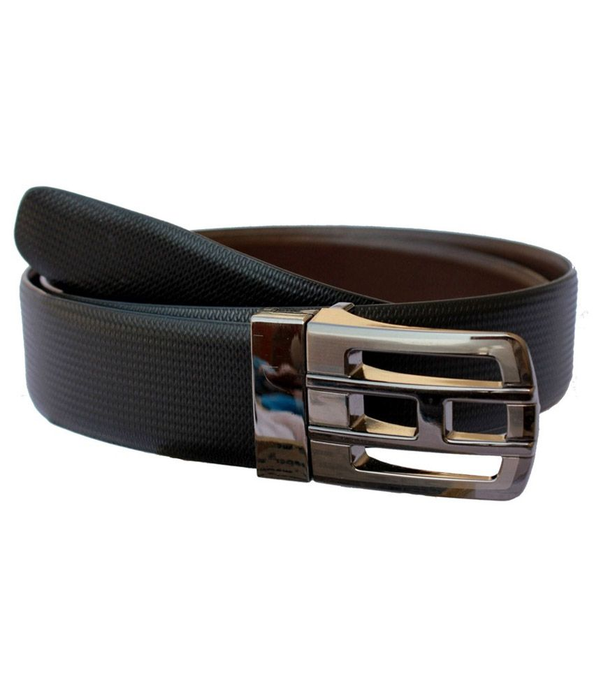 Kesari Black Non Leather Belt