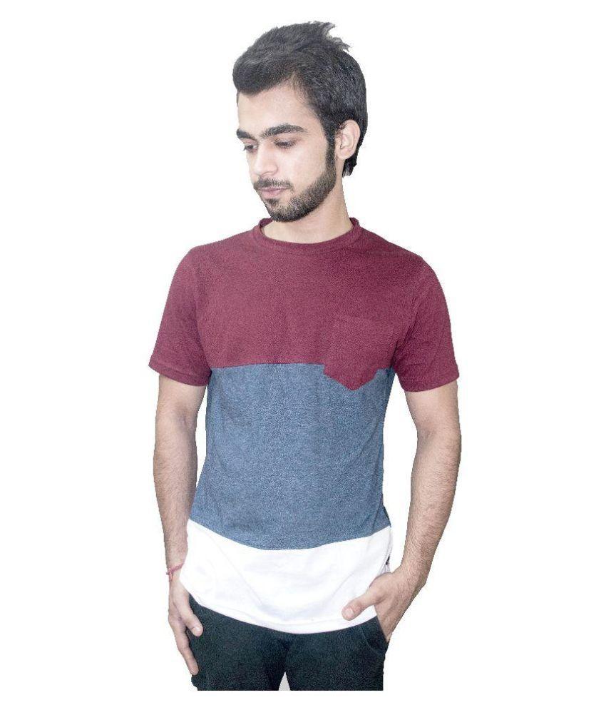 Vertue Multi Round T Shirt