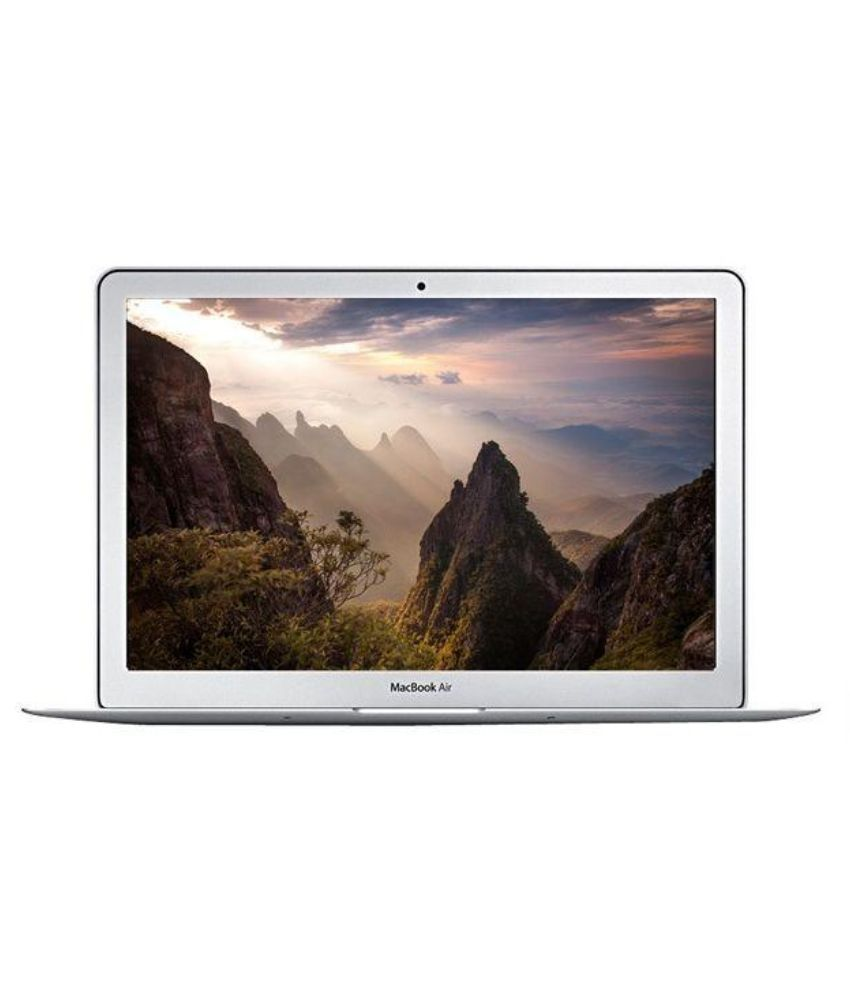 Apple MacBook Air MMGF2H/NA Notebook Core i5 (5th Generation) 8 GB 33.78cm(13.3) Mac OS X 10.11 Not Applicable Silver