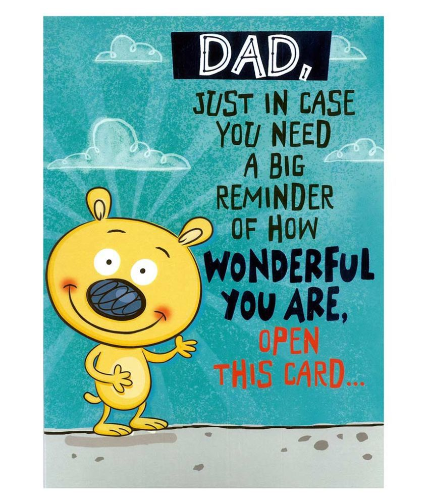 Archies Father's Day Greeting Card: Buy Online At Best