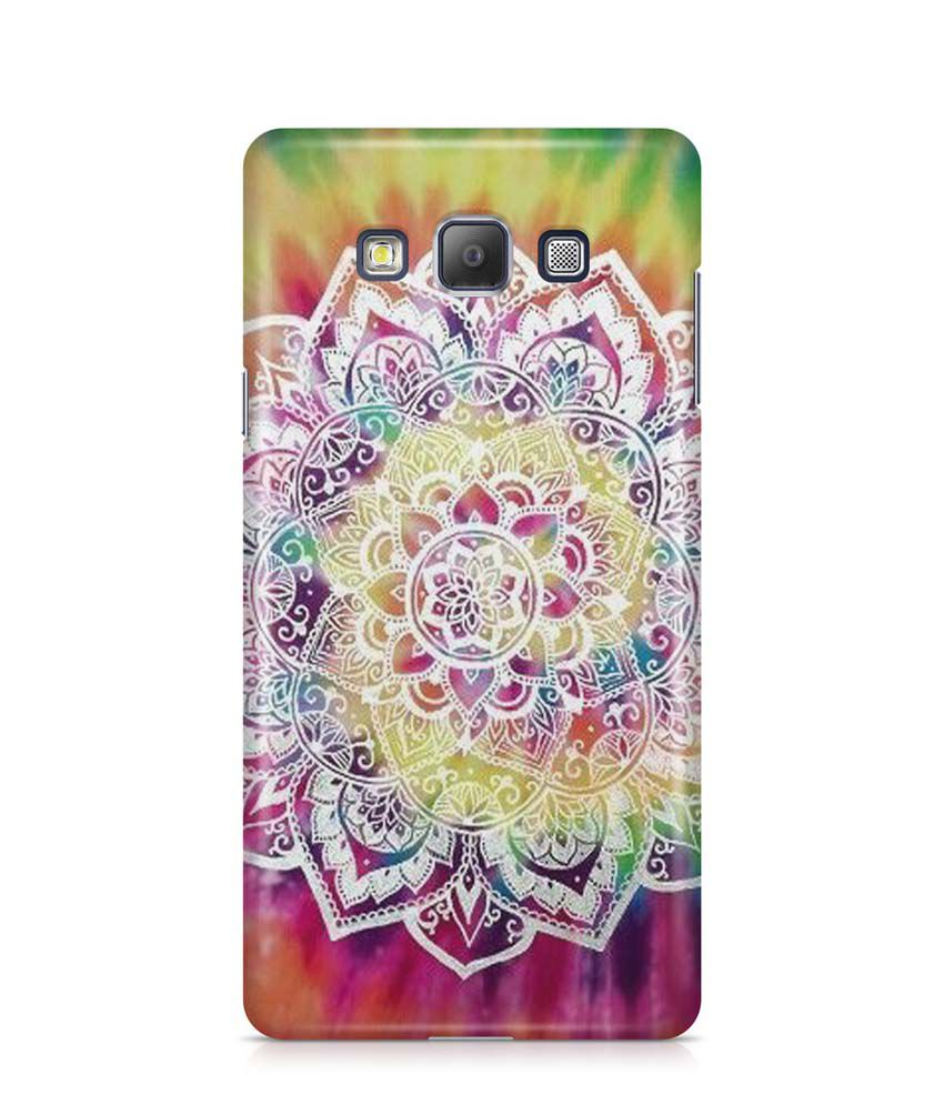 Cover Affair Printed Back Cover for Samsung Galaxy A8 - Multicolor