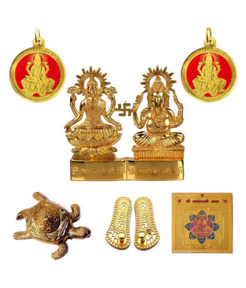 Haridwar Astro Shubh Dhan Laxmi Yantra Set with Nazar Raksha Kavach