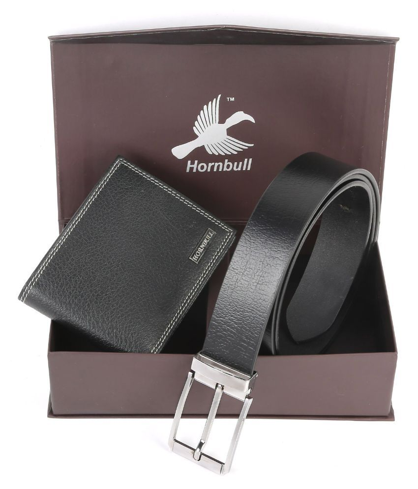 Hornbull Combo of Wallet and Belt Diwali Gift Set for Men ...