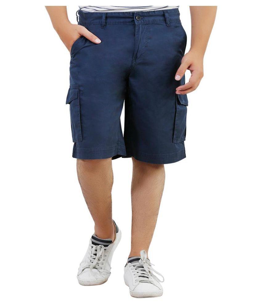 Lamode Blue Shorts