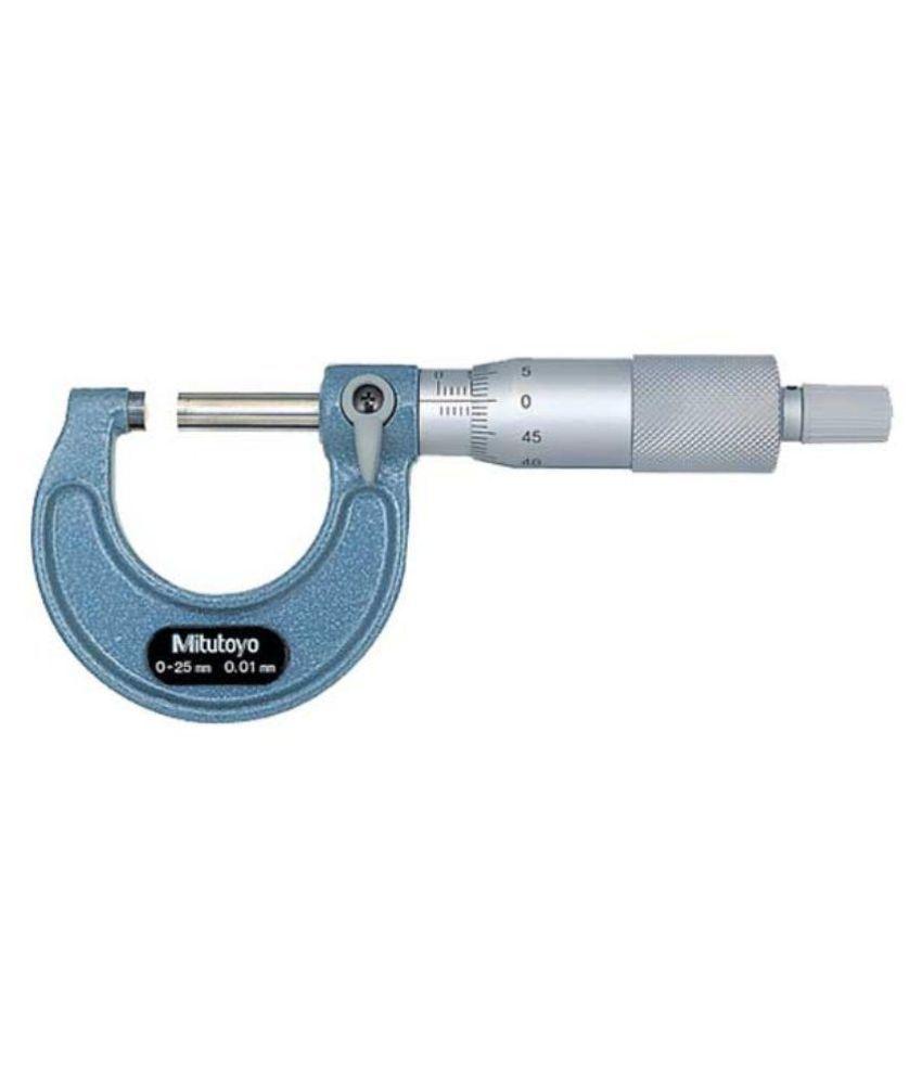 Mitutoyo 103-137 Micrometer (0-25mm)