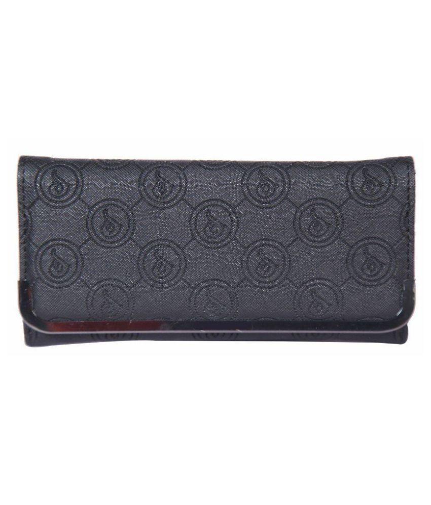 Saiba Black Wallet