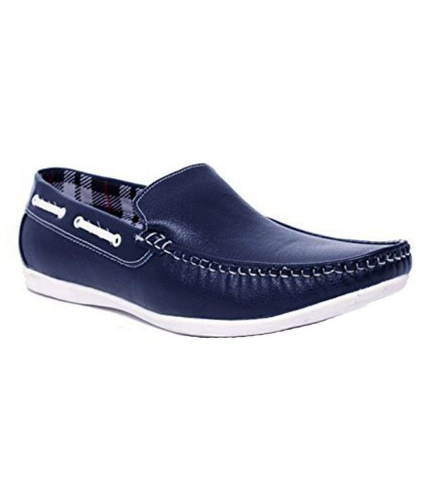 Whitecherry-Blue-Loafers
