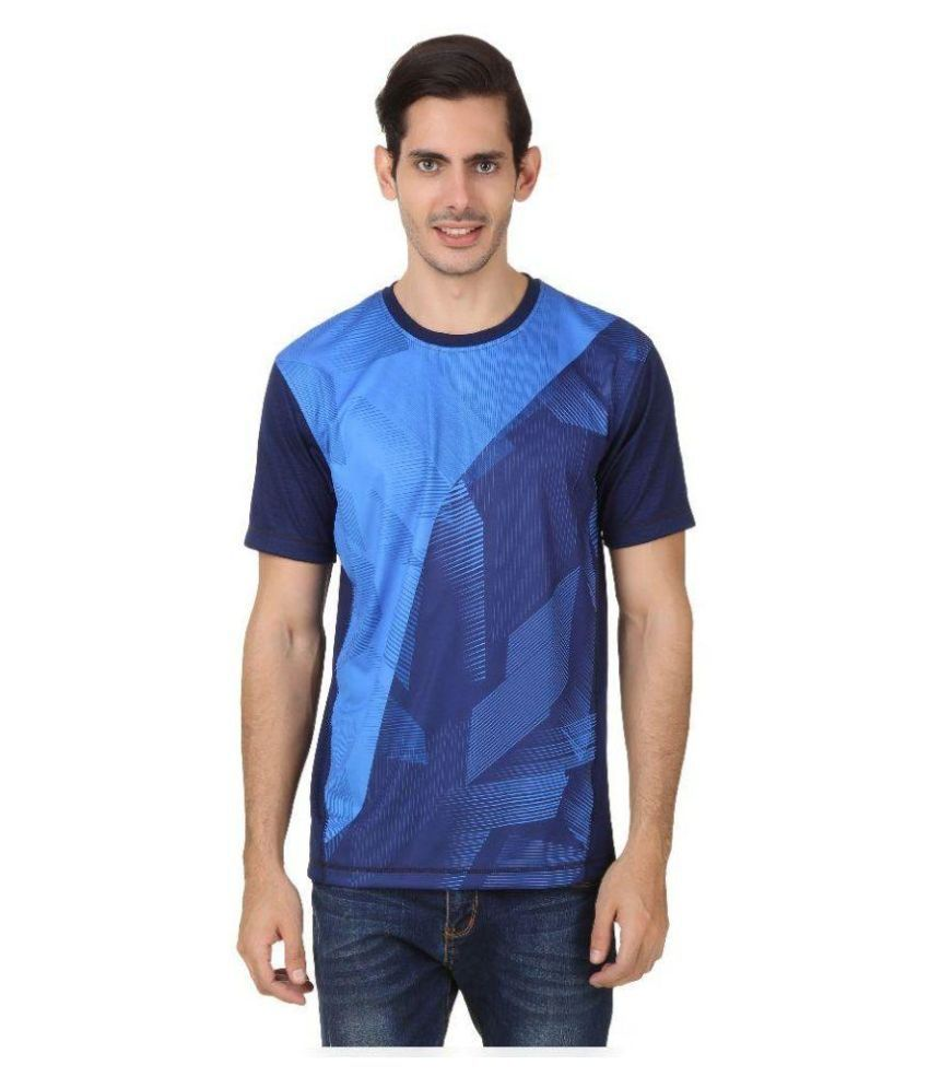2go Blue Round T Shirt
