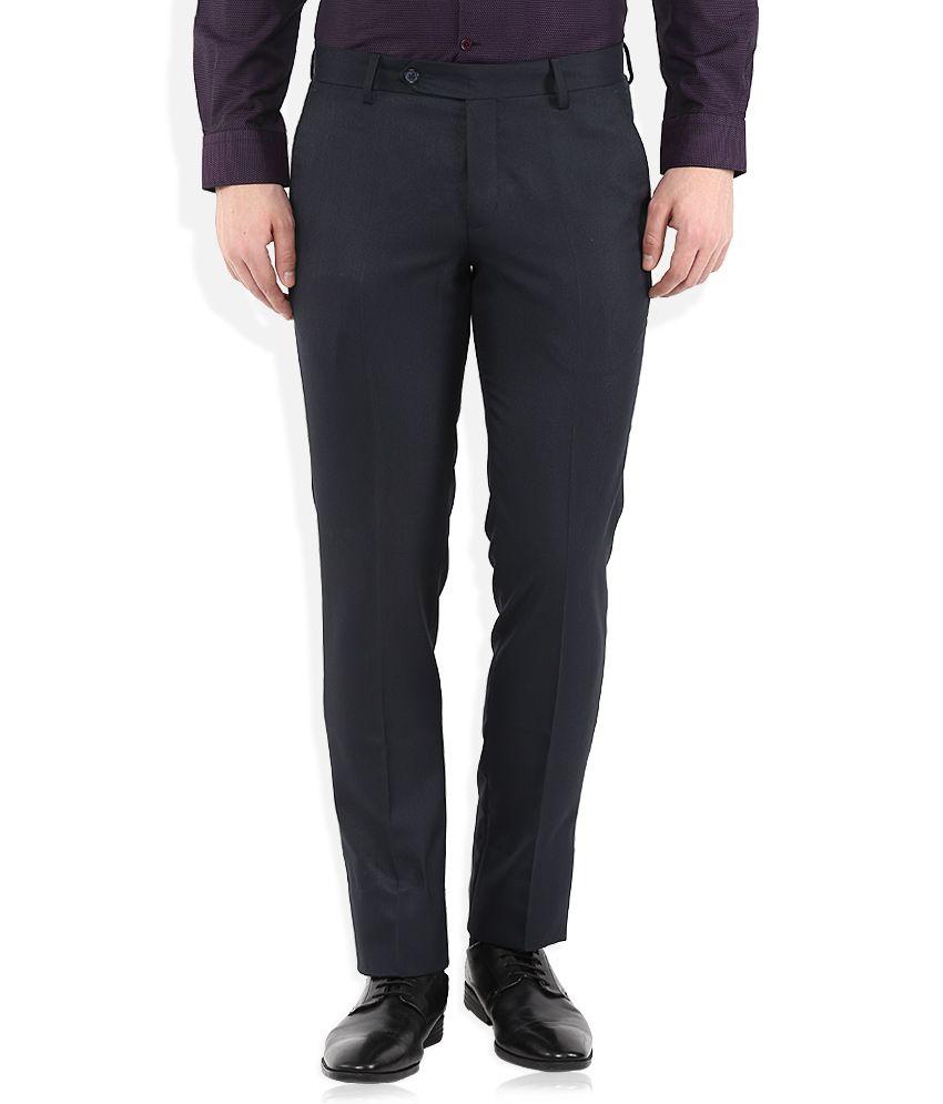 John Players Navy Formals Trouser