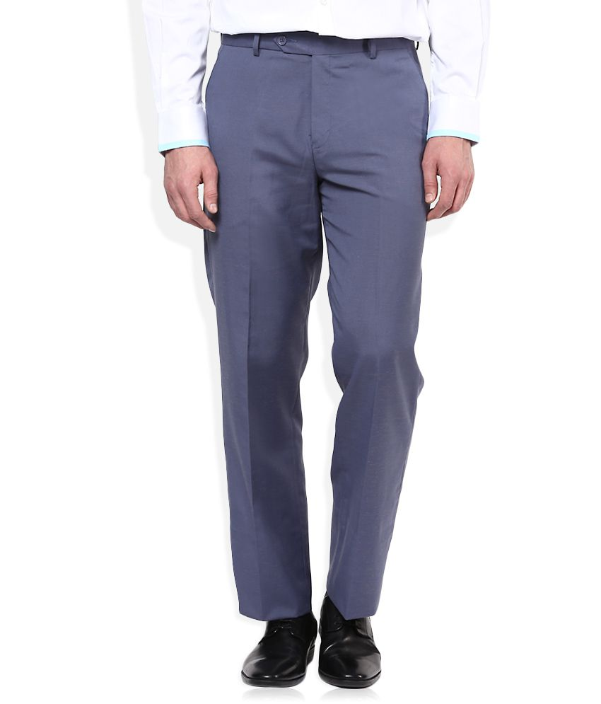 John Players Navy Formals Trouser
