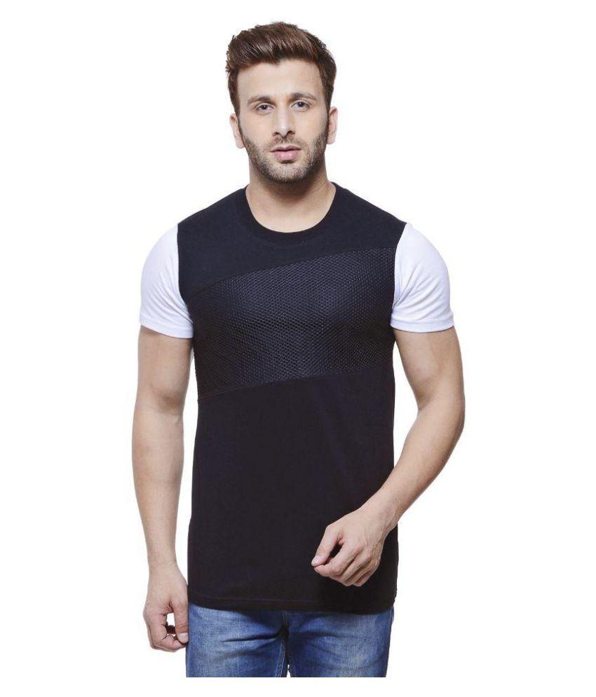 Monteil & Munero Black Round T Shirt