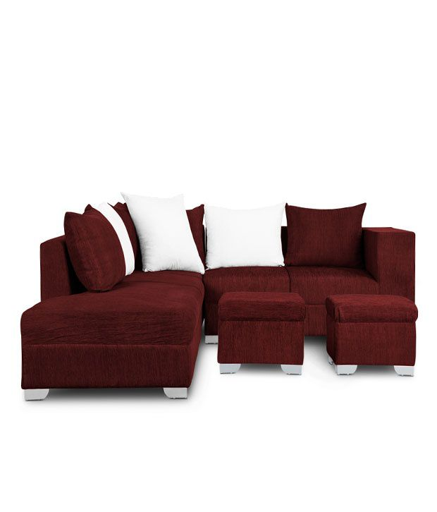 L Shape Sofa Buy L Shaped Sofas line at Best Prices in India on
