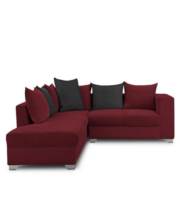 Tremendous S K Furniture Mestler Maroon Sofa Set With Center Table Download Free Architecture Designs Rallybritishbridgeorg
