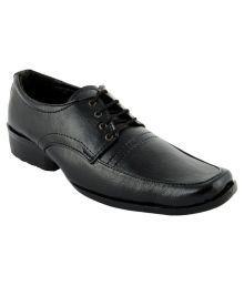 Cyro Black Formal Shoes