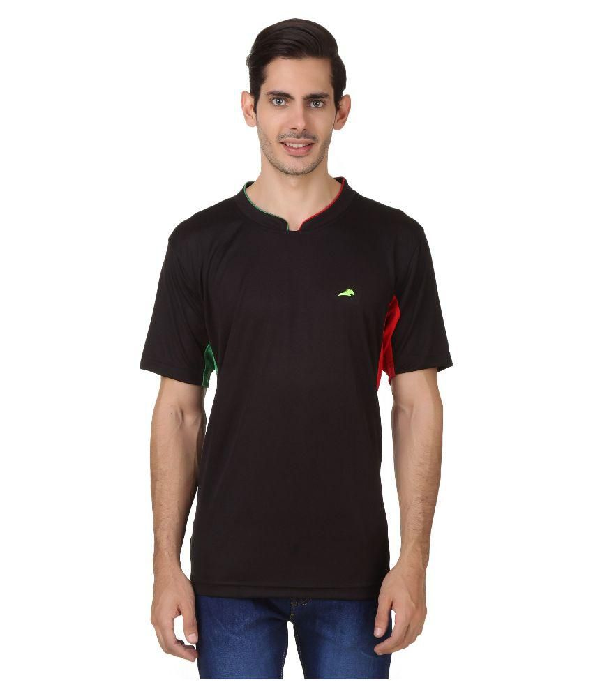 2go Black Round T Shirt